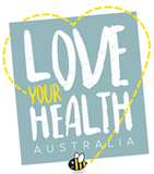 Love Your Health Australia logo