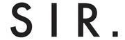 SIR the label logo